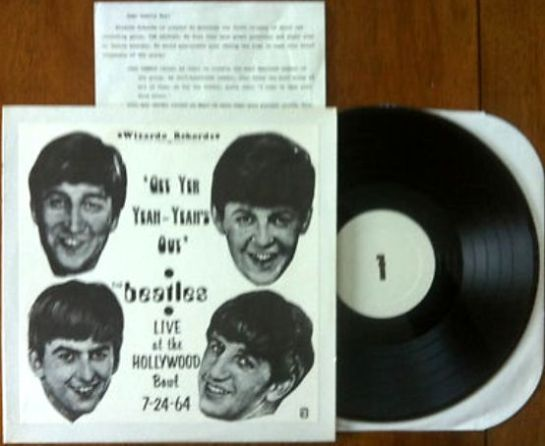 Beatles Get Yer Yeah Yeah's Out w. letter