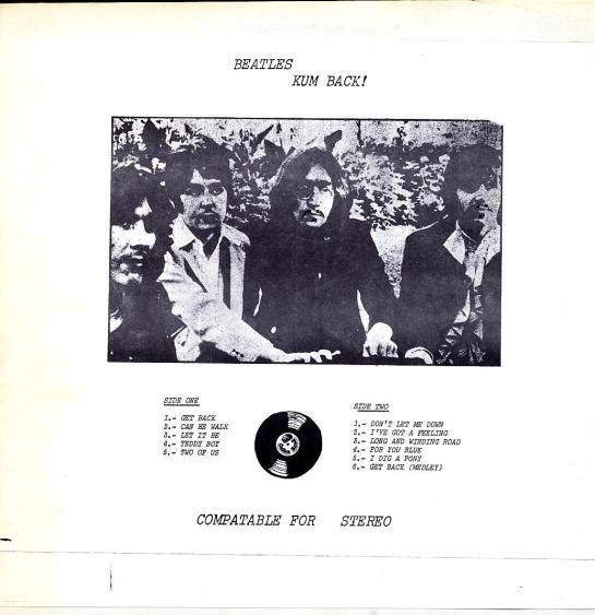Beatles Kum Back 2