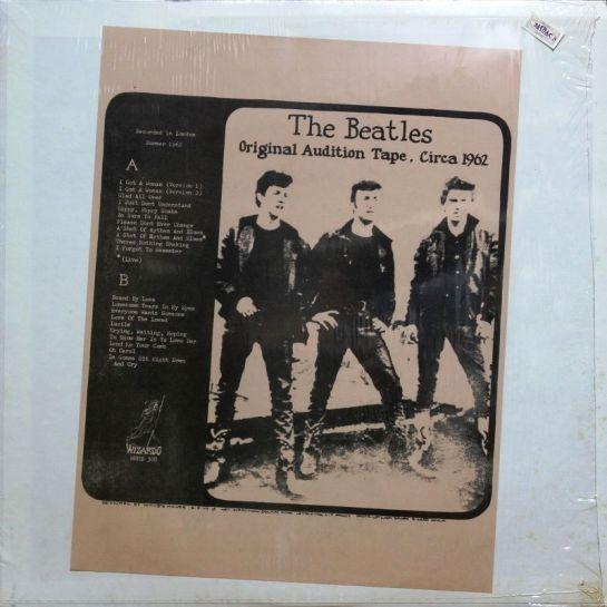 Beatles Orig Auf Tape 1962 Din A 4