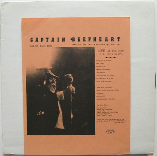 Captain Beefheart WatBBMusic