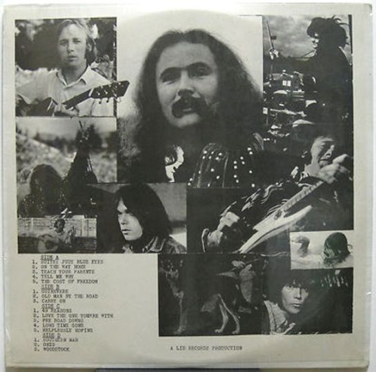 CSNY LID Records
