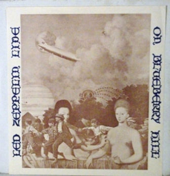 Led Zep Blueberry Hill Blimp