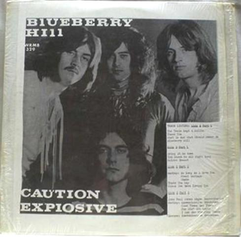 Led Zeppelin Caution Explosive