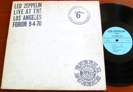 Led Zeppelin Los Angeles Forum 9-4-70