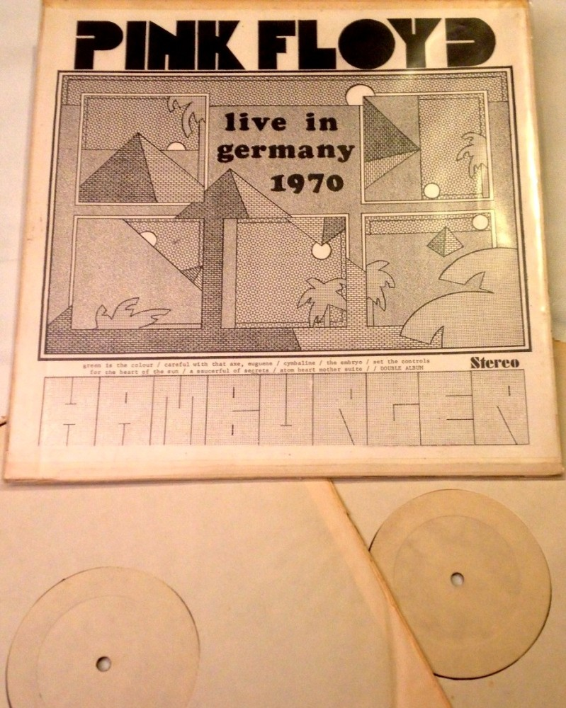 PINK FLOYD 'MUSIC HALLE' / 'HAMBURGER - live in germany 1970' /