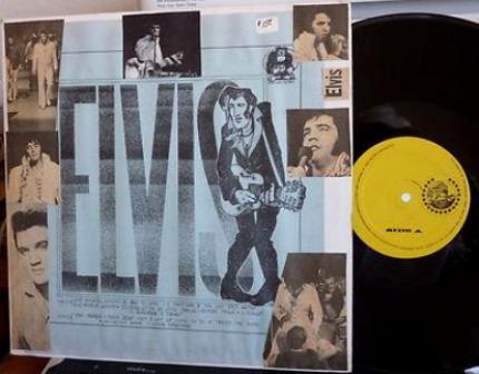 Presley Elvis yel lbl