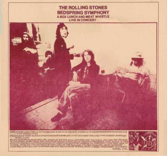 Rolling Stones Bedspring Symphony dbb