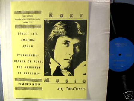 WRMB 324: ROXY MUSIC 'Air Treatments' | THE AMAZING KORNYFONE LABEL