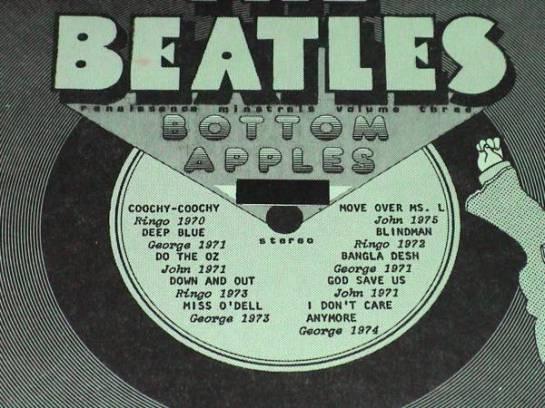 Beatles Bottom Apples 404 details