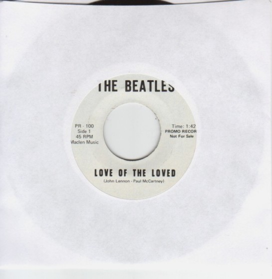 Beatles LotLoved 45 lbl