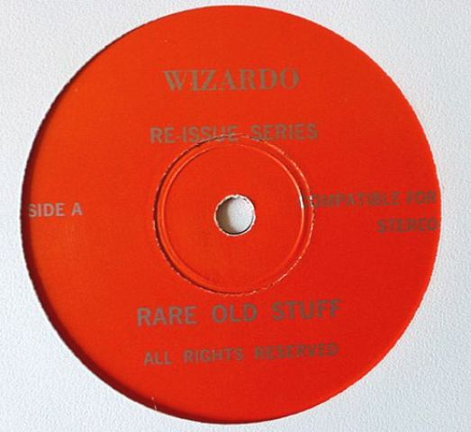 Bowie Wiz EP red lbl