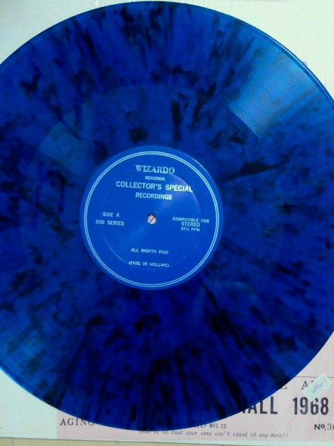 Cream RAH 1968 blue disc