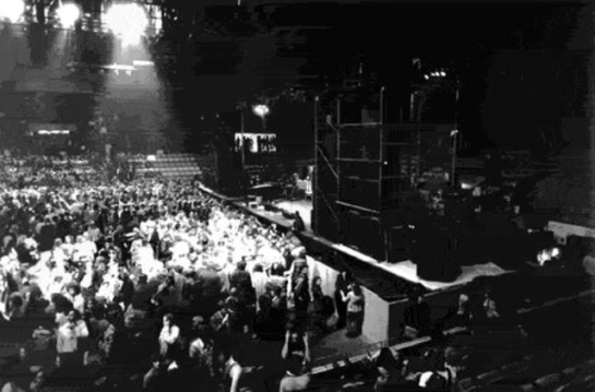 Fillmore West inside