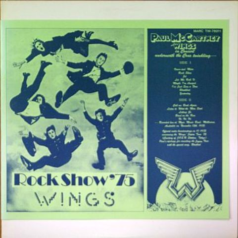 Wings Rock Show '75 Jp 2