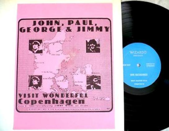 Beatles 501 Copenhagen pink