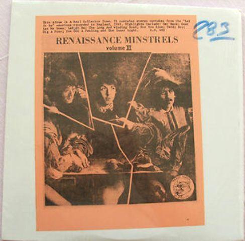 Beatles Renaissance Minstrels II no #