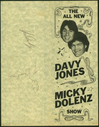 Davy Jones M Dolenz Show