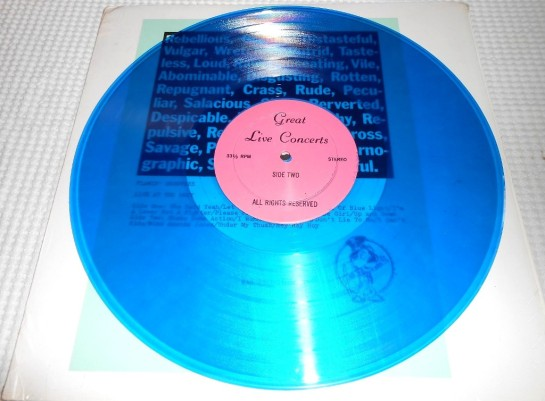 Flamin Groovies Roxy disc
