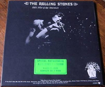 Rolling Stones 1975 TOTA box 2 g st