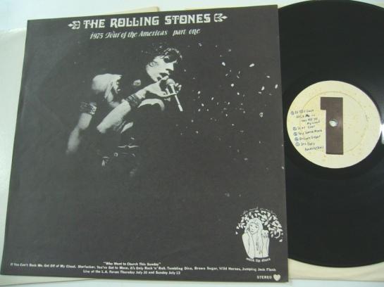 Rolling Stones 1975 TOTA pt one 1 lbl