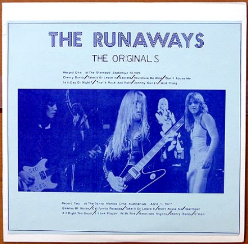Runaways The Originals blu