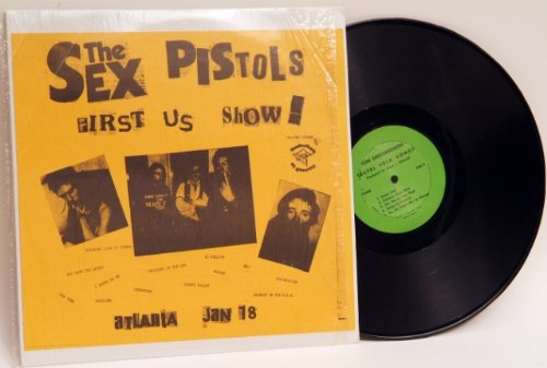 Sex Pistols First US Show! Von