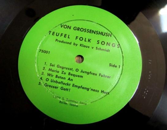 Von Grossenshush 1