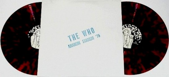 The Who Anaheim Stadium '76