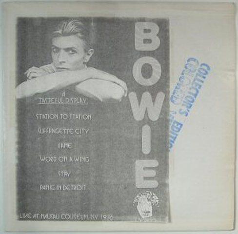 Bowie A Tasteful Display stamp
