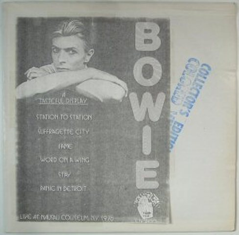 Bowie A Tasteful Display stamp