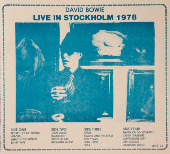 Bowie Stockholm 78