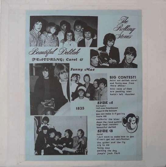 Rolling Stones Beautif Del el monkey