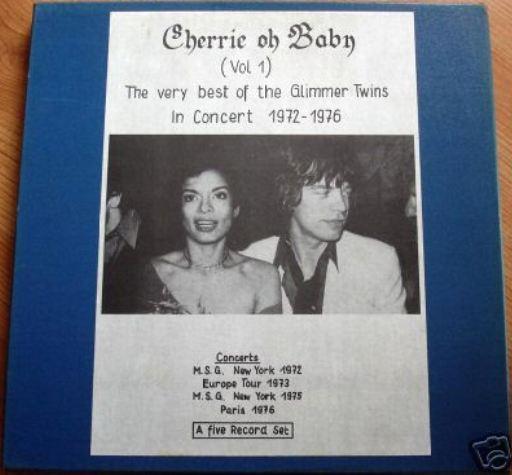 Rolling Stones Cherrie oh Baby box