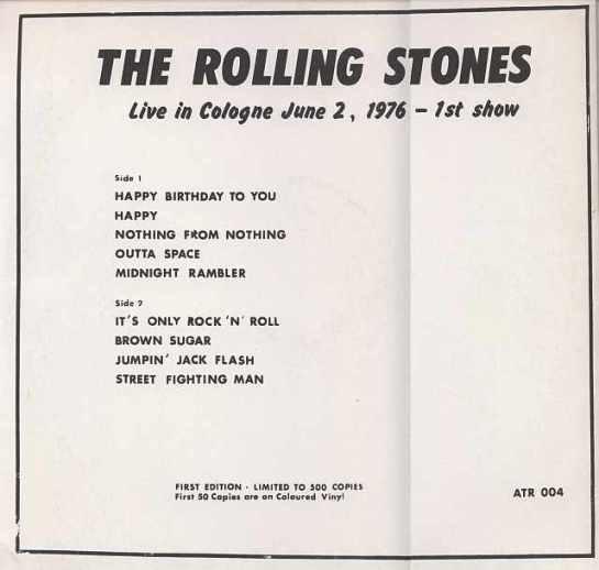 Rolling Stones Eau de Cologne b