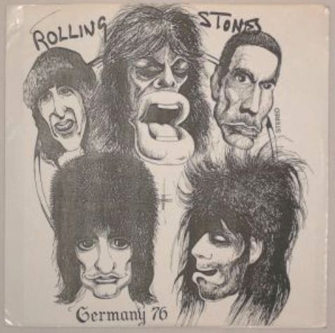Rolling Stones Germany 76