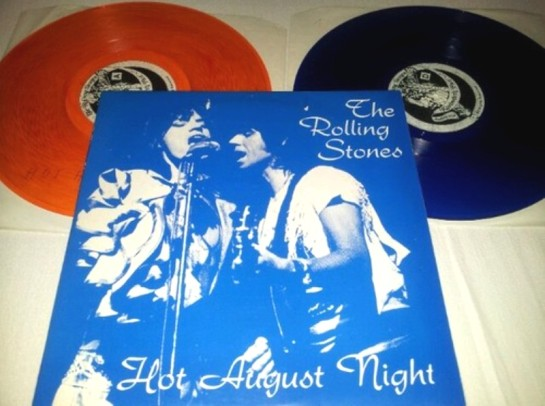 Rolling Stones Hot August Night orange + blu