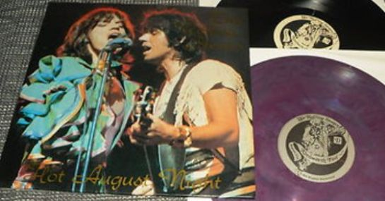 Rolling Stones Hot August Night purple