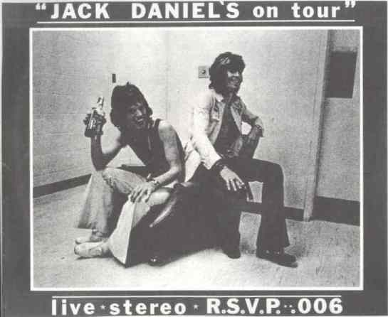 Rolling Stones Jack Daniels o Tour clear