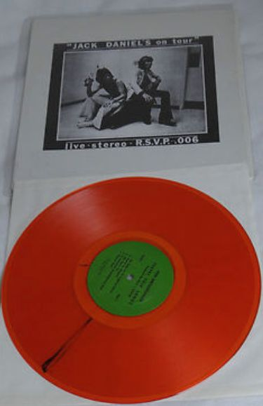 Rolling Stones Jack Daniels o Tour orange