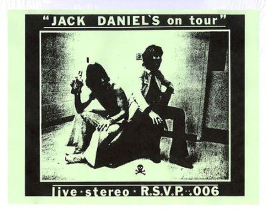 Rolling Stones Jack Daniels o Tour skull