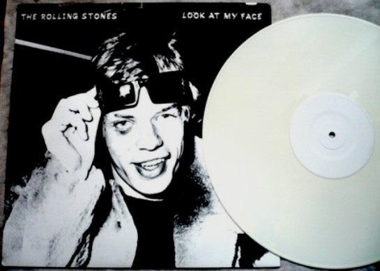 Rolling Stones Look At My Face white