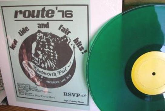 Rolling Stones route '76 green 2