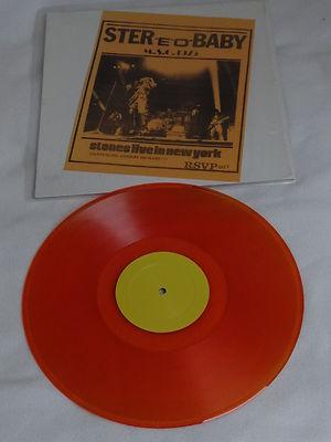 Rolling Stones Stereo Baby orange