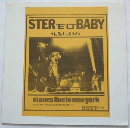 Rolling Stones Stereo Baby