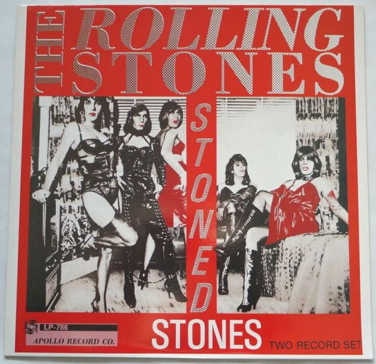 Rolling Stones Stoned Stones