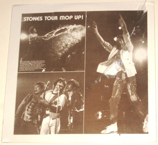 Rolling Stones Tour Mop UP!