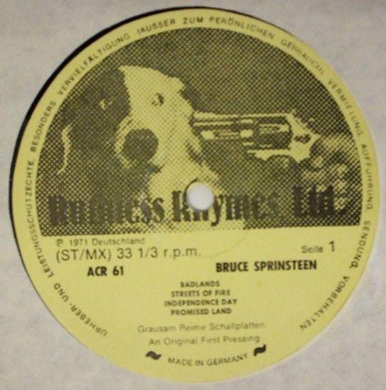 Springsteen 78 lbls