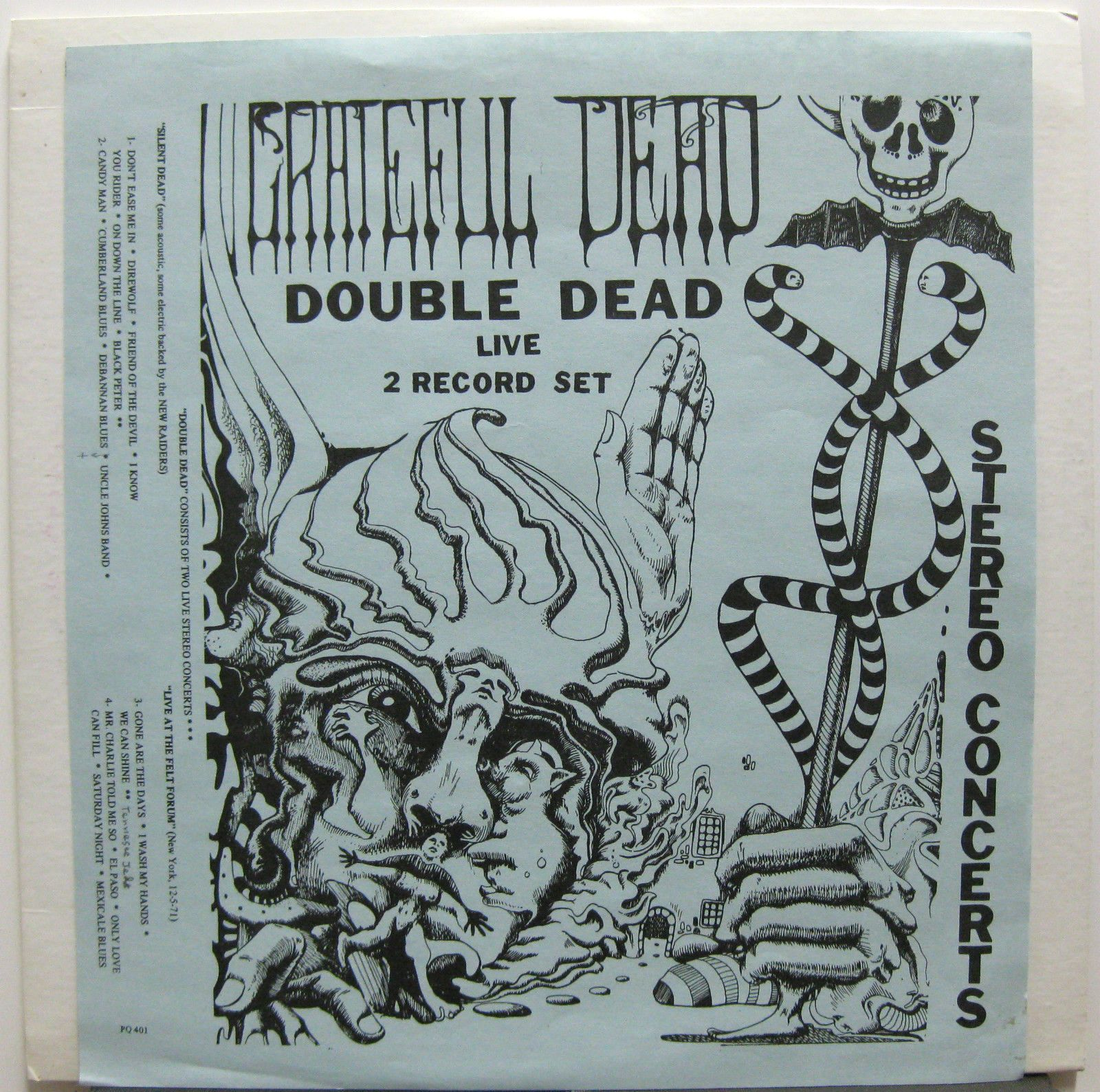 Examples List on Grateful Dead