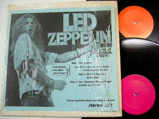 Led Zep F BH Only col lbls