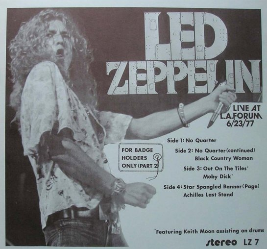 Led Zep F BH Only pt 2